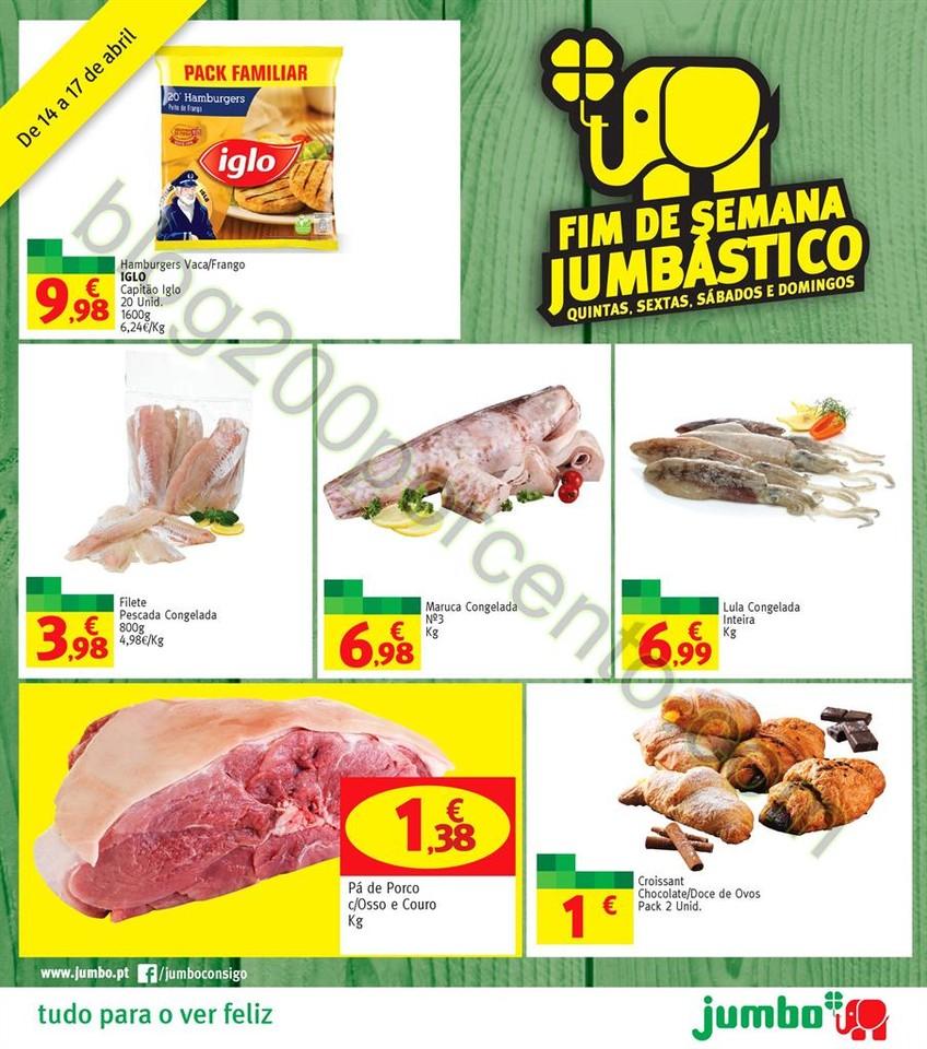 Antevisão Folheto JUMBO Promoções de 14 a 17 ab