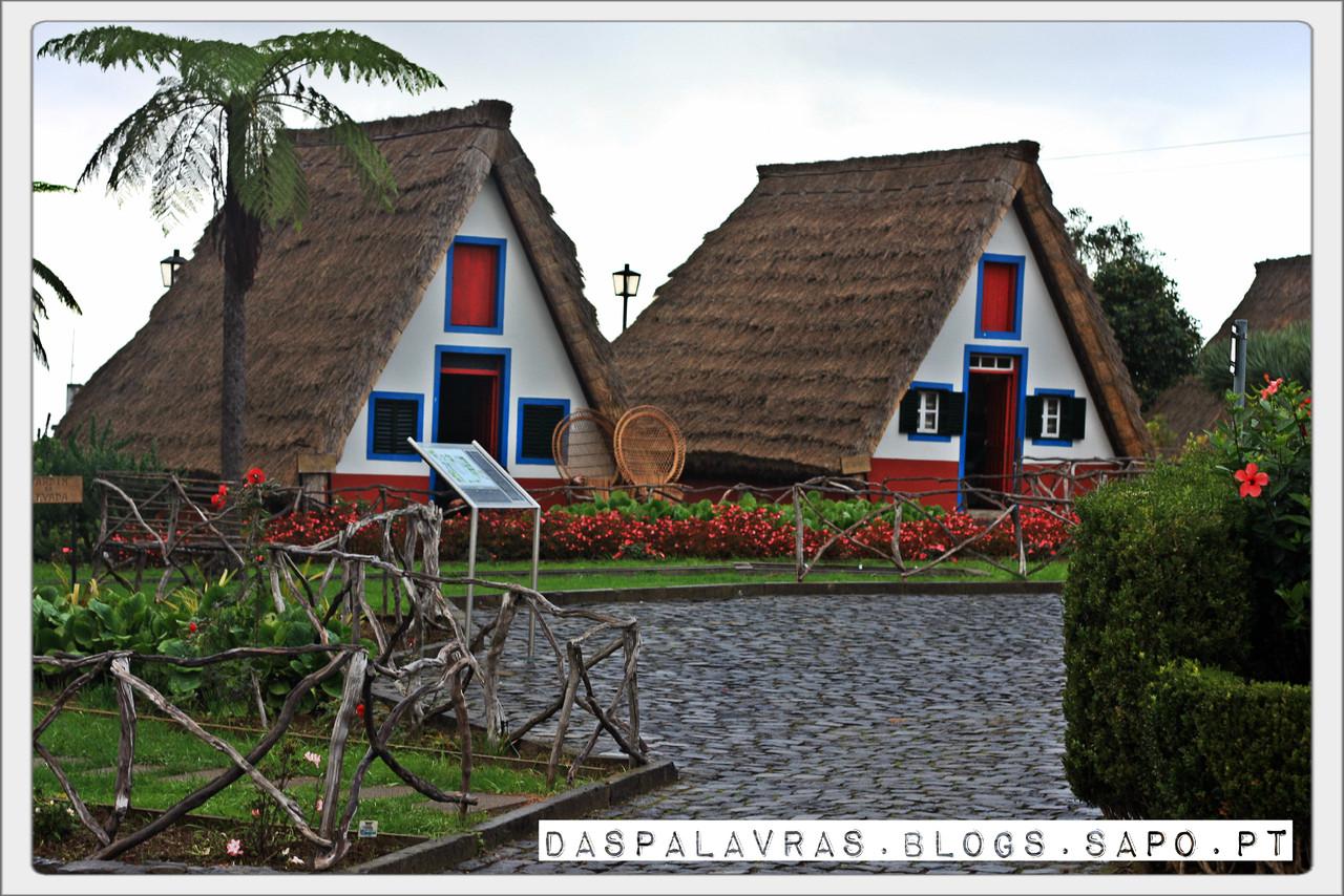 Casas tipicas de Santana | Madeira - daspalavras.blogs.sapo.pt