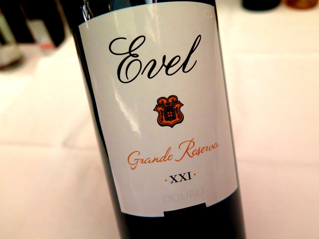 Evel XXI Grande Reserva tinto 2012