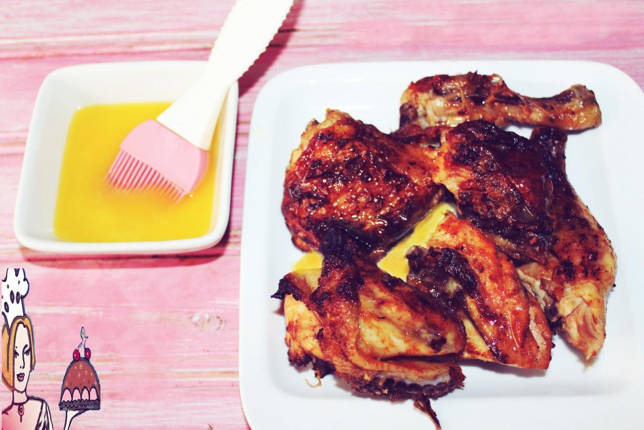 Receita de frango com molho de manteiga