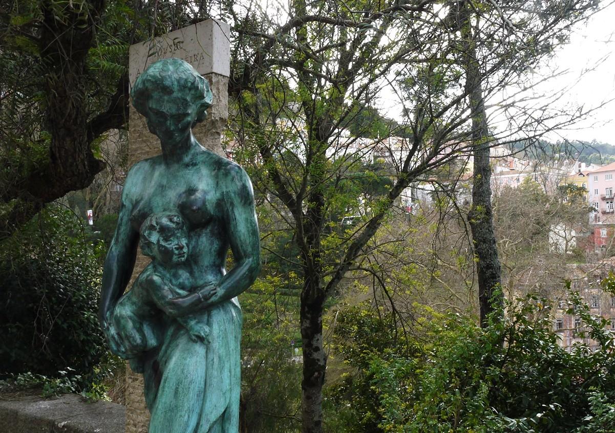 Estátua Anjos Teixeira,  Azinhaga da Sardinha.JPG
