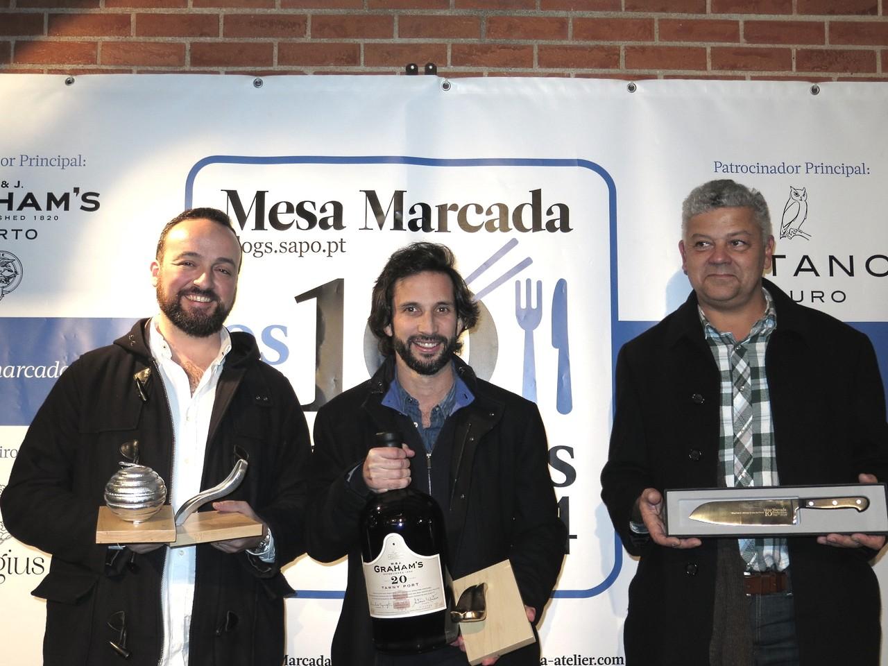 Pedro Lemos, José Avillez, André Magalhães