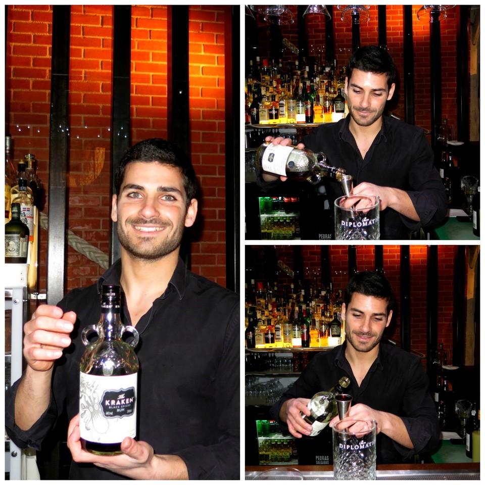 Barman Ricardo Mendes