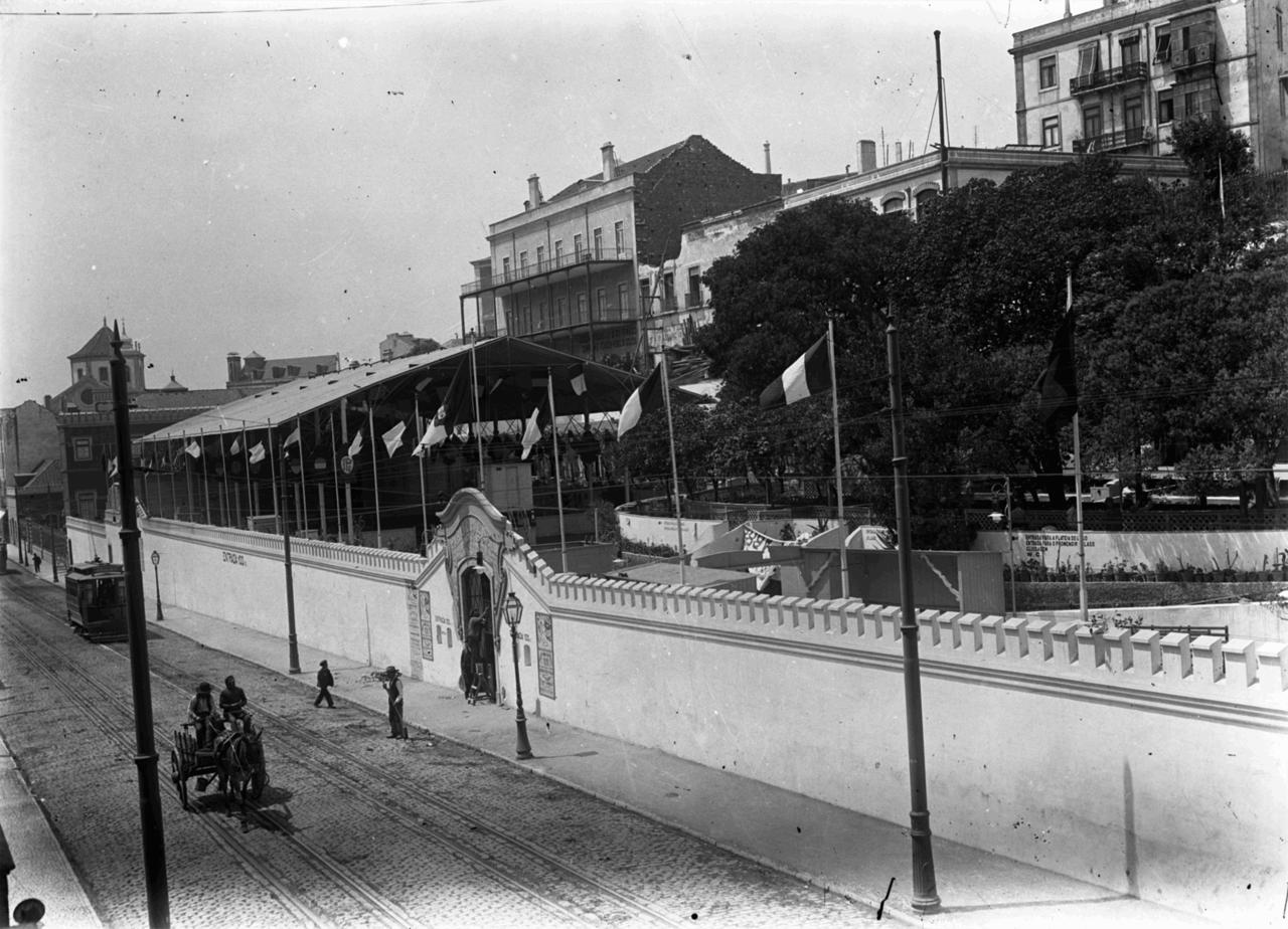 Animatógrafo Paraíso de Lisboa, antigo recinto d