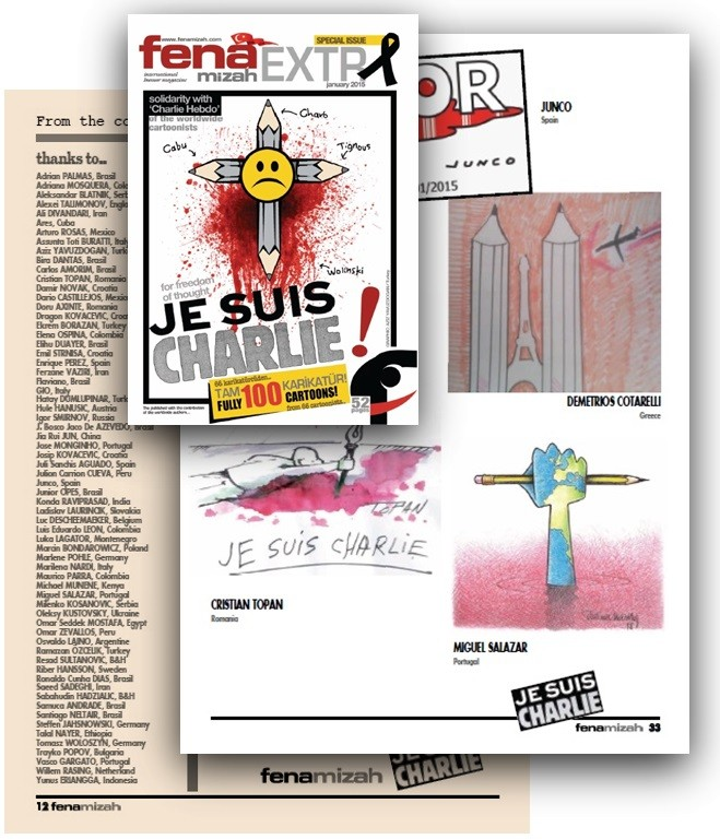 Fenamizah Extra Charlie Hebdo