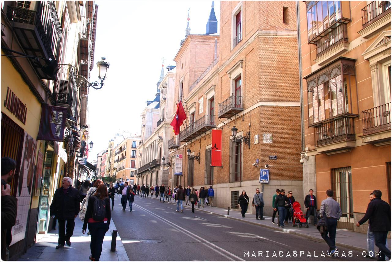 Fim de semana em Madrid - Maria das Palavras