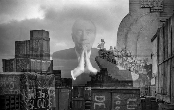 O prof. Marcelo e a Expansão portuguesa (fotomontagem a partir de imagens da «Bairrada Digital» e d' «O Diabo»)