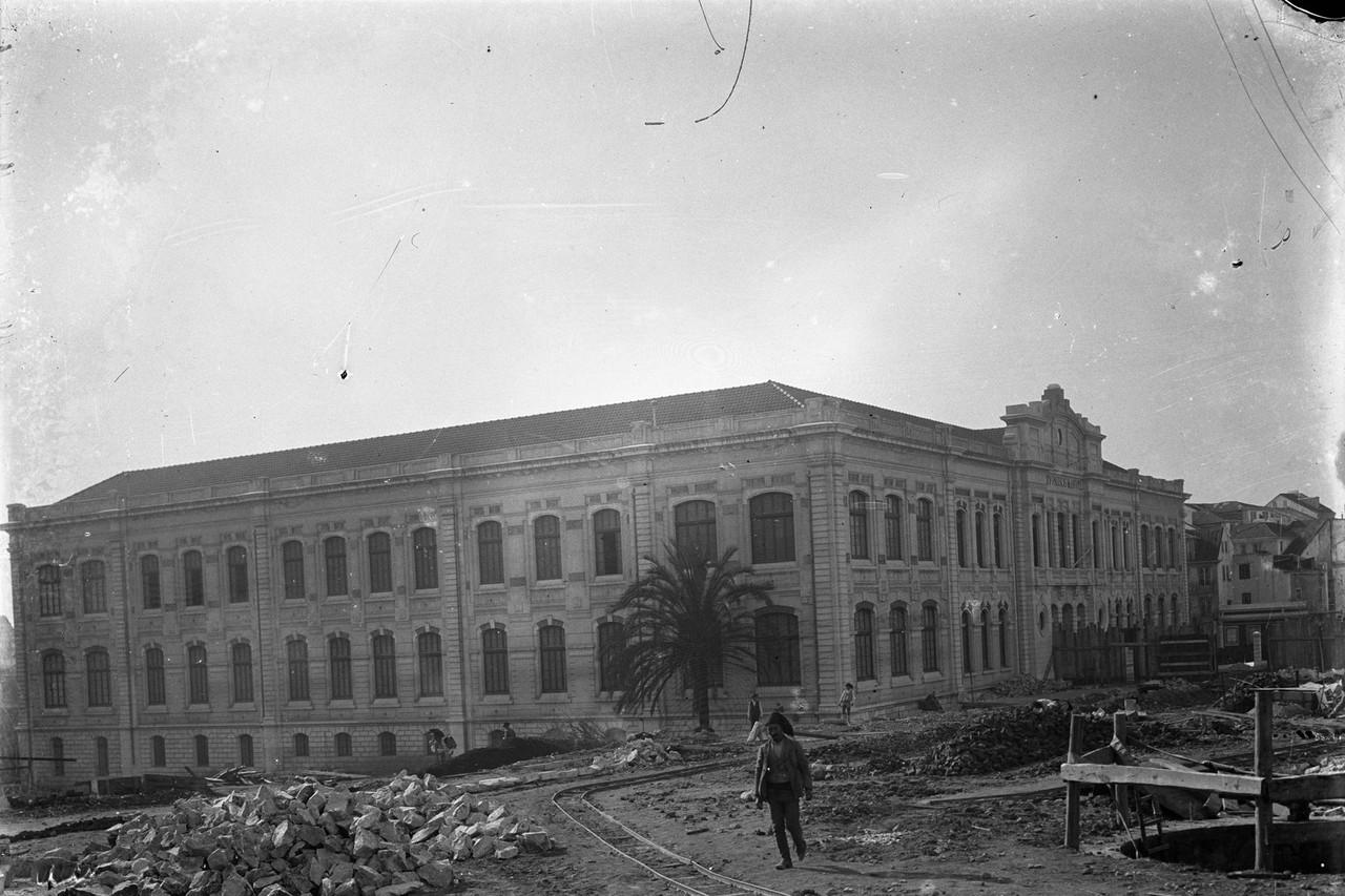 Liceu Passos Manuel,1911 foto Joshua Benoliel, in