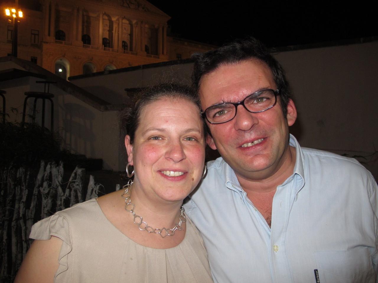 Luísa e Joaquim Arnaud