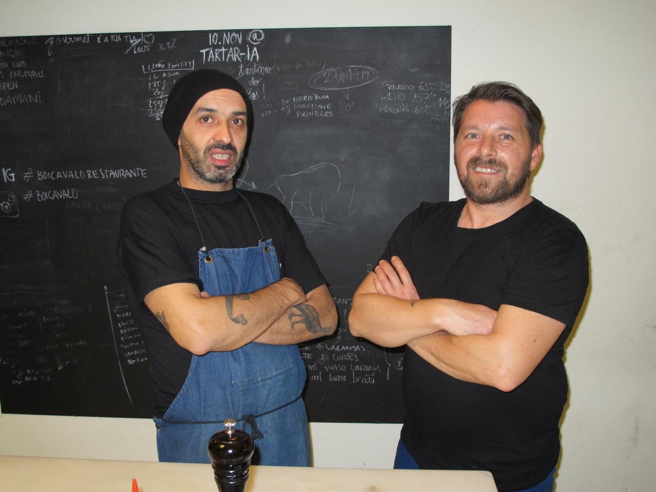 Hugo Brito e Pedro Duarte