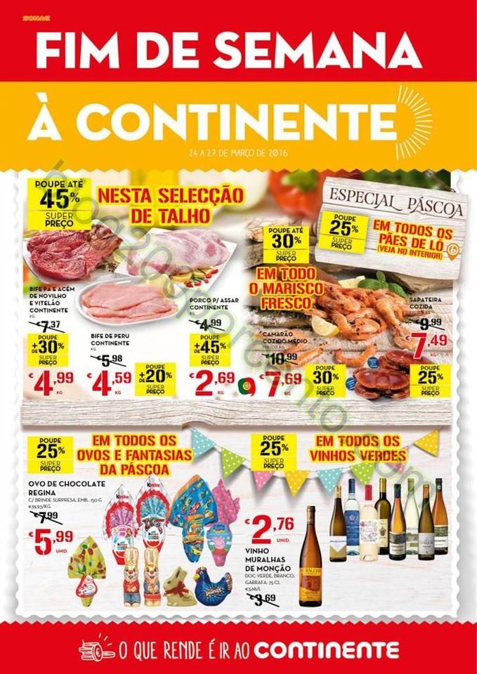 Antevisão Folheto CONTINENTE Fim de Semana de 24