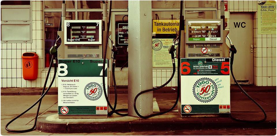 Bombas de Gasolina - Imagem Pixabay