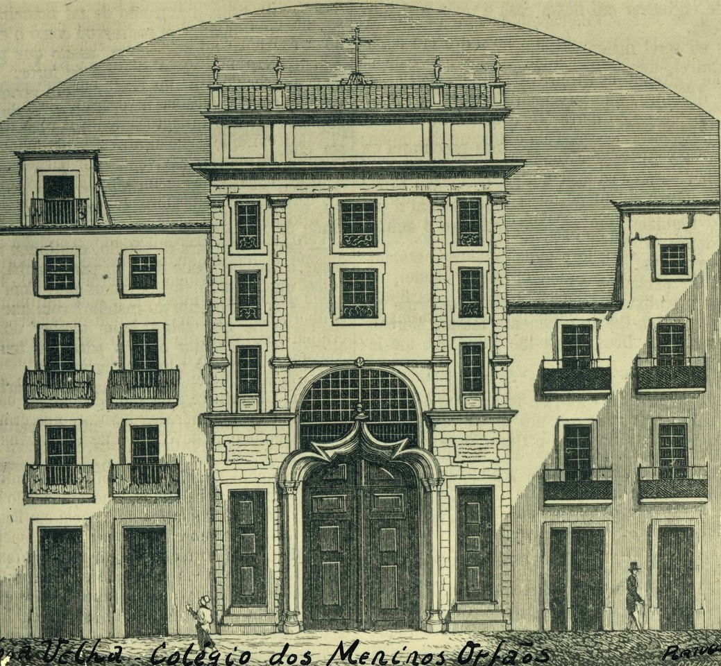 Colégio dos Meninos Orfãos, gravura, foto de Edu