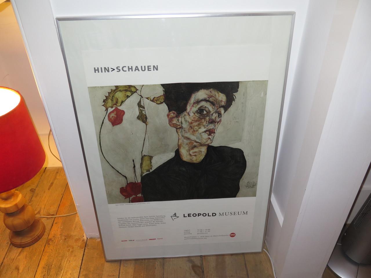 O famoso poster do Museu Leopold