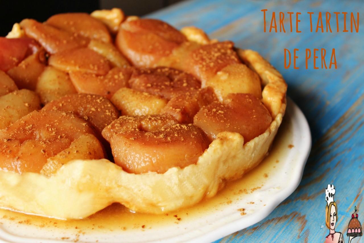 Tarte tartin de pera