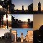 Nascer do sol no Polo I da Universidade de Coimbra