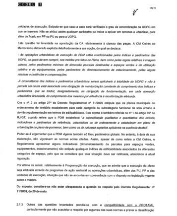 Proposta Delimitação Reserva Ecológica Nacional