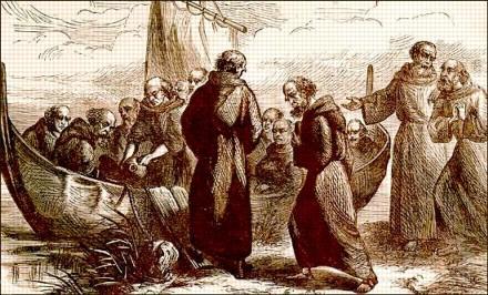 irish monks