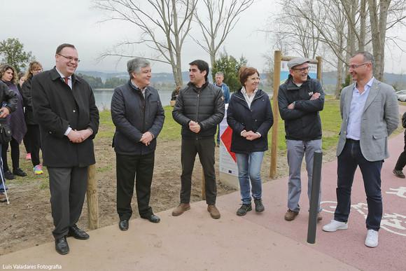 Inauguração ecovia Caminho Rio Minho Lanhelas (2