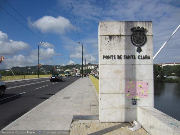 Ponte de Santa Clara em Coimbra #PrayForOrlando