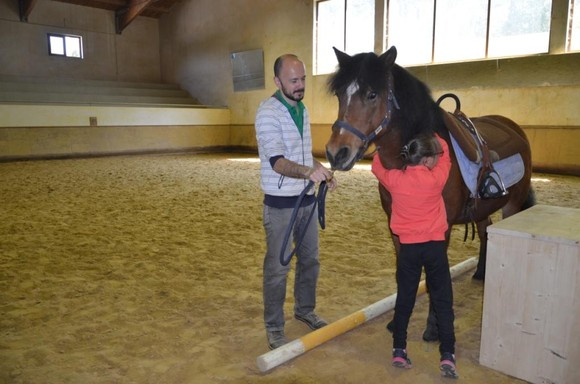 Encerramento das Atividades de Equitação com Fin