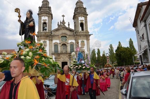Procissão em honra de S. Miguel  (1)