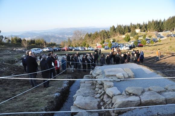 Inauguracao escavacoes Garfe 2 (Foto da autoria de