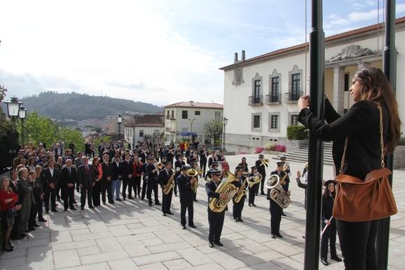 Foto arquivo 2014 Hastear da Bandeira 1