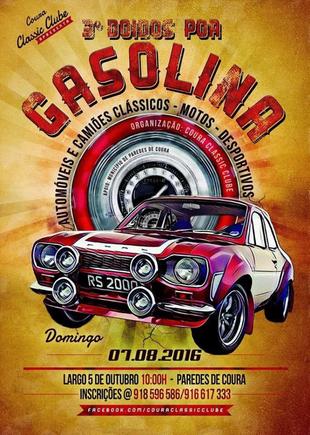 Cartaz 3.º Doidos por Gasolina