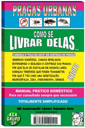Livro Pragas Urbanas Bill A.-11 99604 6390--3427.2