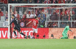 Ronaldo festeja o segundo golo