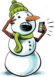 boneco-de-neve-do-telefone-celular-40498232.jpg