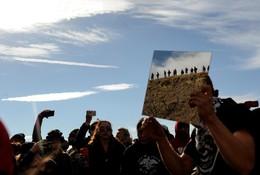 Manifestação ambiental, Dakota do Norte, EUA