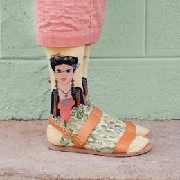 Obras de arte nos pés