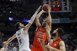 Madrid até no basket