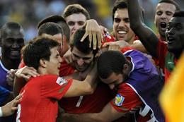 Momento de glória para Portugal