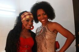 Lura com a cantora Neima em Moçambique