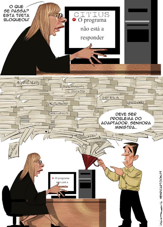 Cartoons - O falhanço do CITIUS