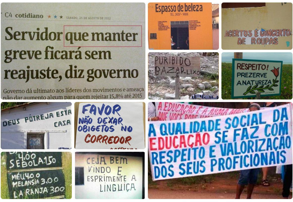 Imagens Google - Erros de português