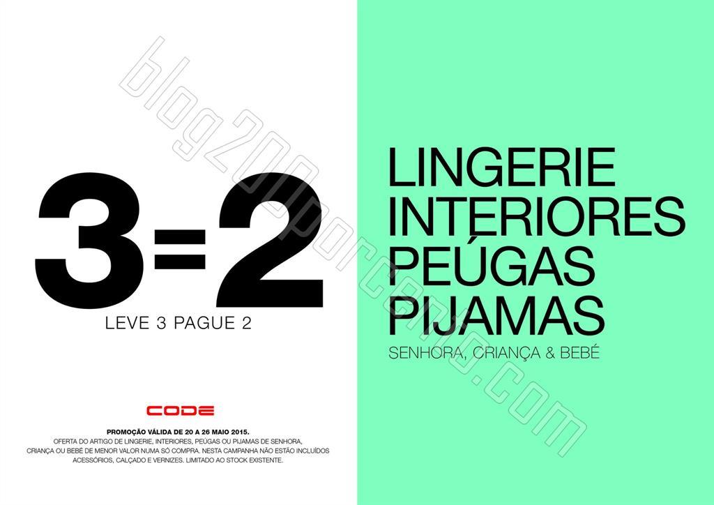 Leve 3 Pague 2 PINGO DOCE - CODE de 20 a 26 maio.j