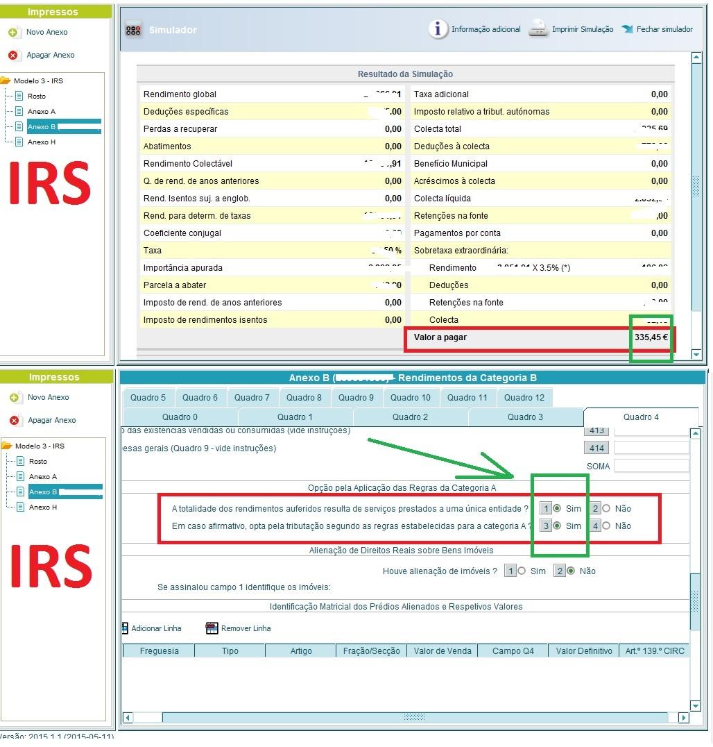 IRS a diferença entre trabalhar para uma entidade
