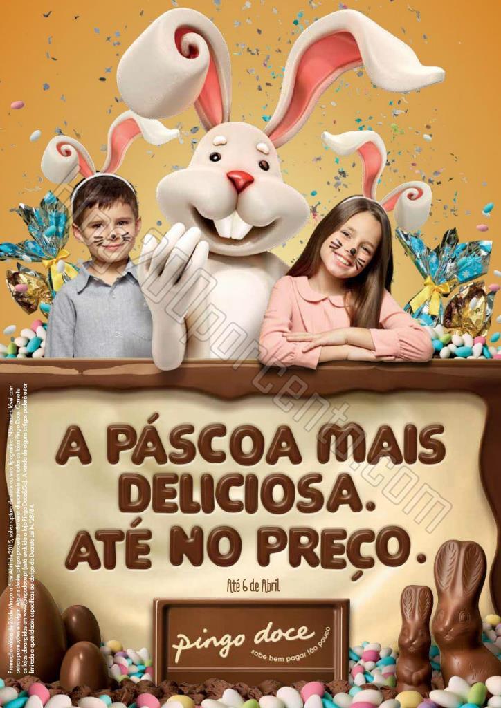 Antevisão Folheto PINGO DOCE Páscoa até 6 abril