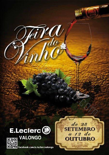 Antevisão Folheto E-LECLERC Valongo - Vinhos de 23 setembro a 12 outubro