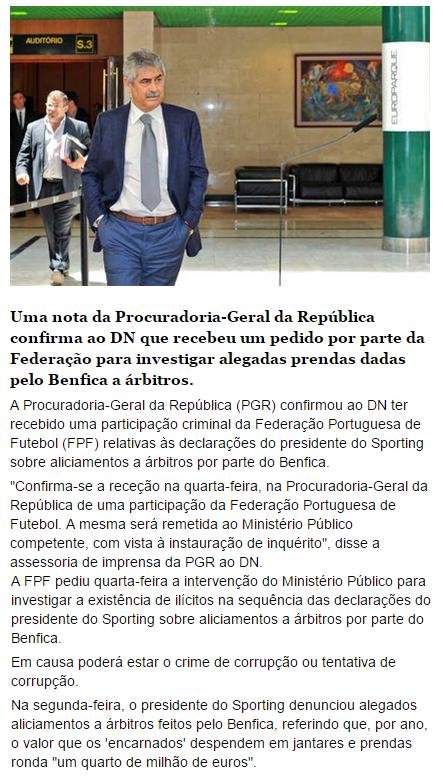 PGR confirma que investiga alegada corrupção no