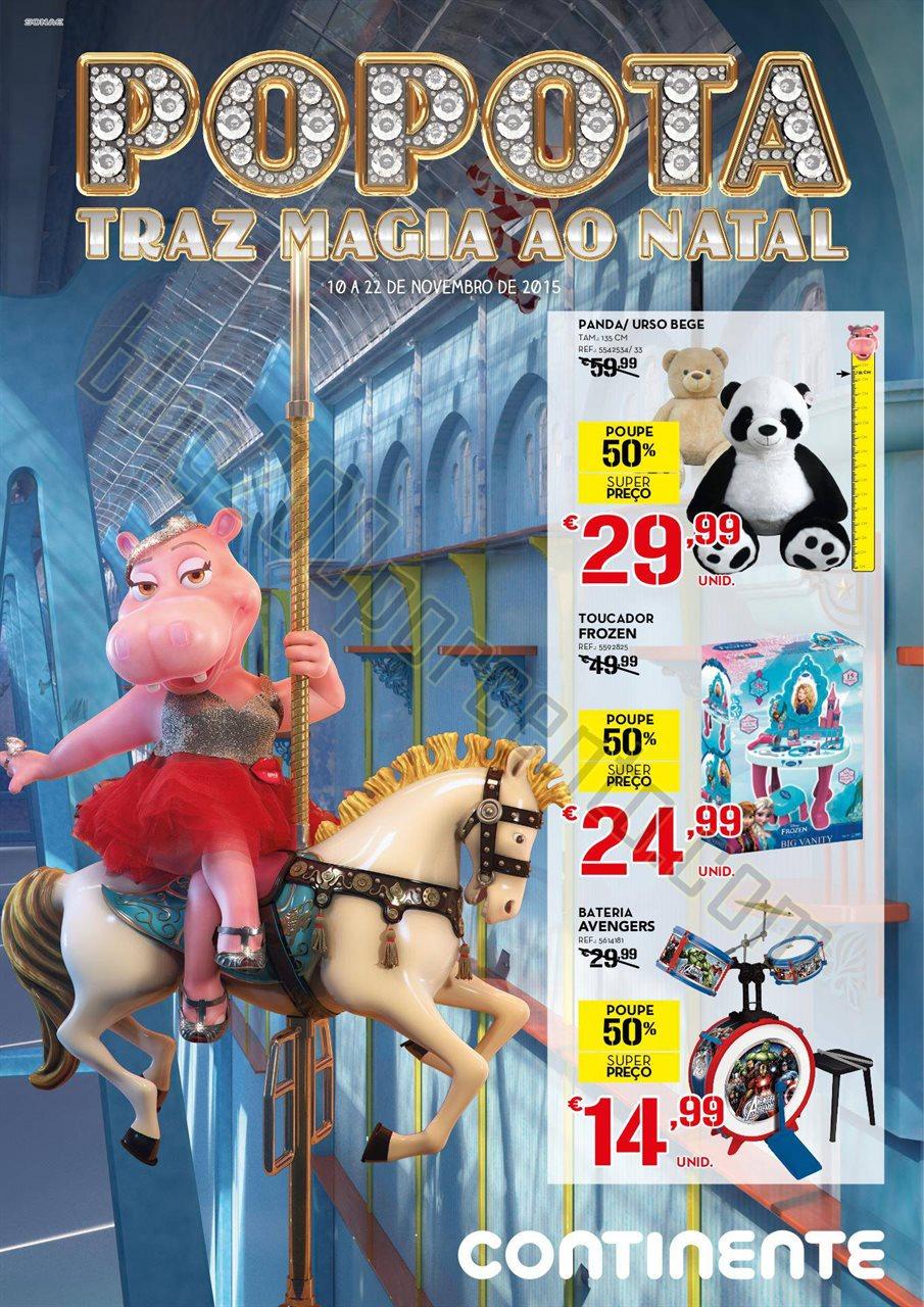 Antevisão Folheto CONTINENTE Brinquedos de 10 a 2