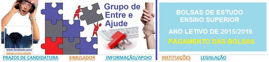 Bolsas de Estudo_Ensino Superior_2015_2016_PAGAMEN