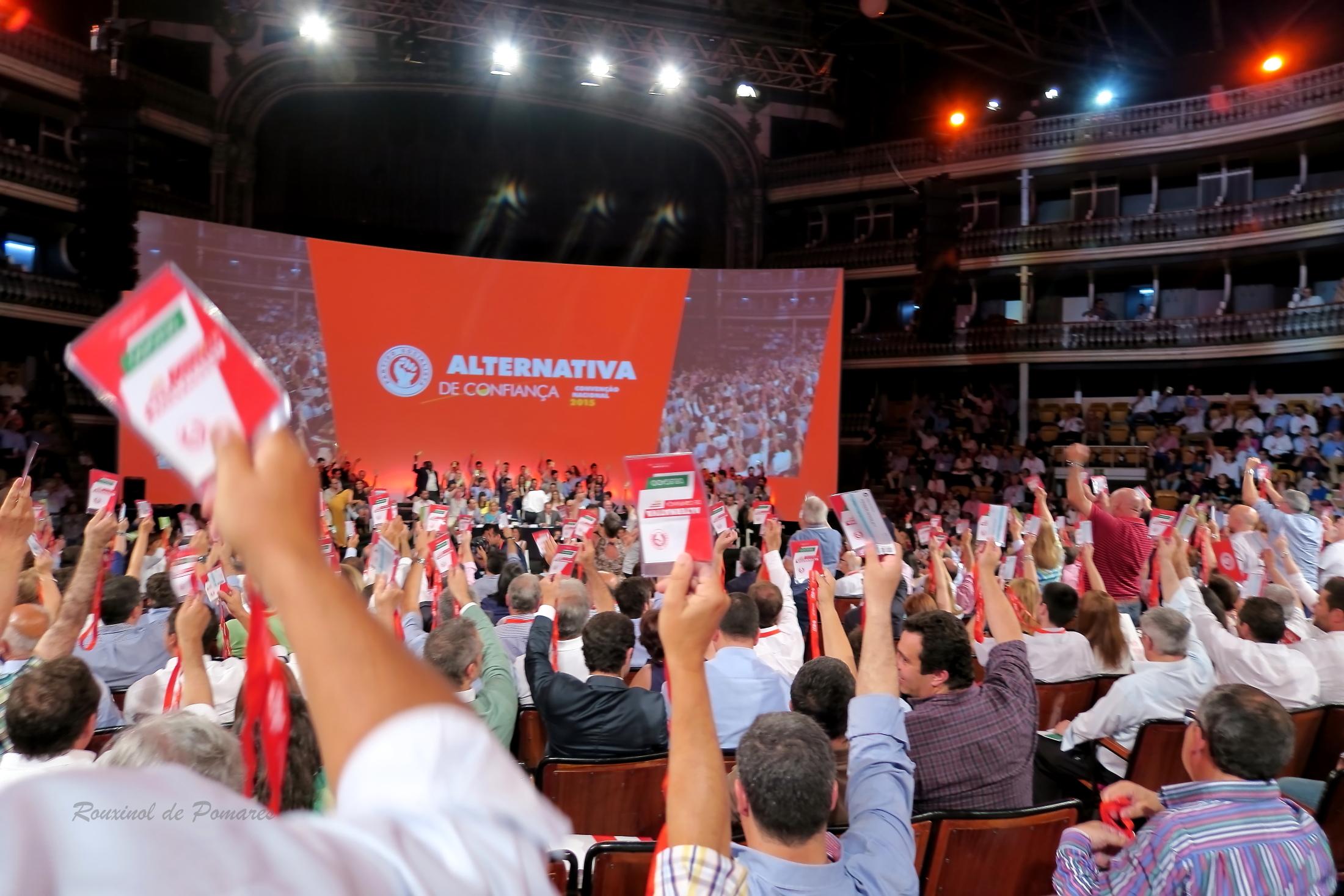 Convenção Nacional 2015 Alternativa de Confianç